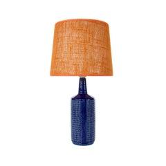 Blue Table Lamp, No. DL 30, Per & Annelise Linnemann-Schmidt, Palshus, 1950s
