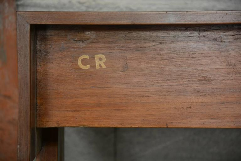 Pierre Jeanneret, Student Desk for Education Buildings in Chandigarh In Good Condition For Sale In BREST, FR