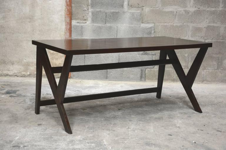 Pierre Jeanneret, Conference Table for the Administration Building in Chandigarh 2