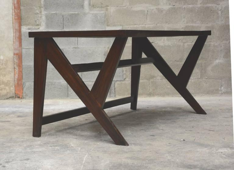 Pierre Jeanneret, Conference Table for the Administration Building in Chandigarh 5