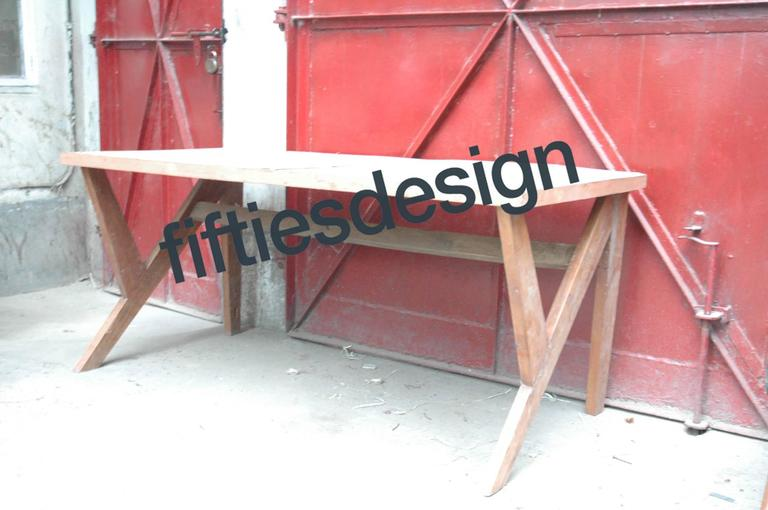 Pierre Jeanneret, Conference Table for the Administration Building in Chandigarh 10
