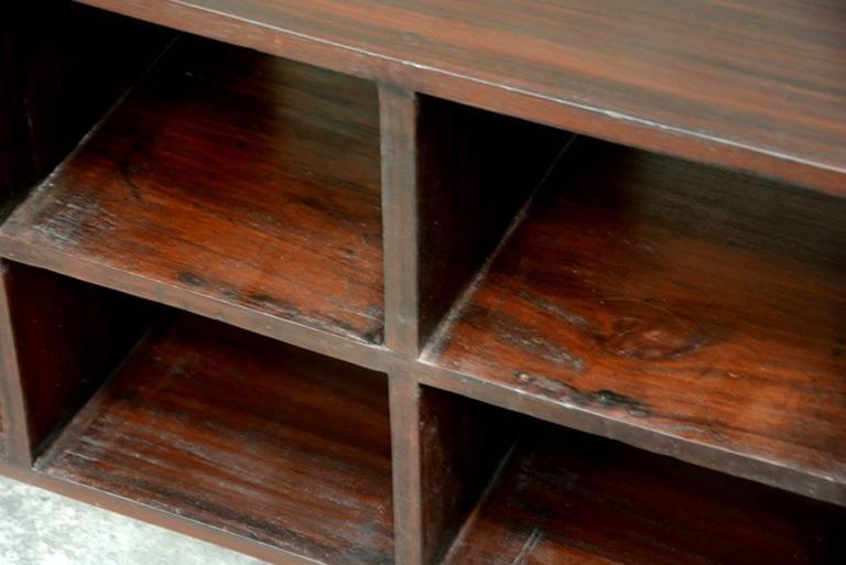 Indian Pierre Jeanneret File Rack For Sale