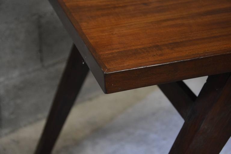 Indian Pierre Jeanneret, Dining Table for the Himalayan Mess Hostel in Chandigarh For Sale