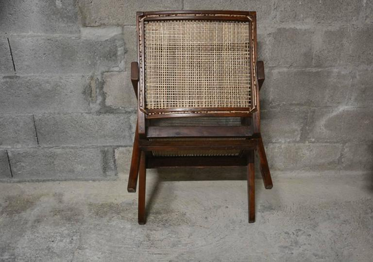 Pierre Jeanneret  Easy Armchairs, circa 1955 In Good Condition For Sale In BREST, FR