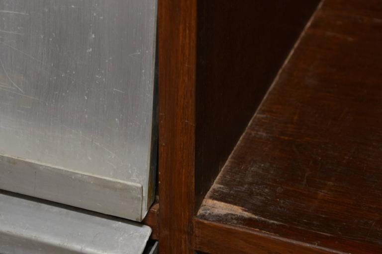 Pierre Jeanneret Very Rare Newspaper Bookcase 5