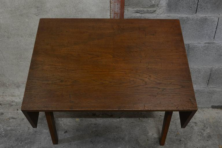 Pierre Jeanneret Student Desk In Excellent Condition For Sale In BREST, FR
