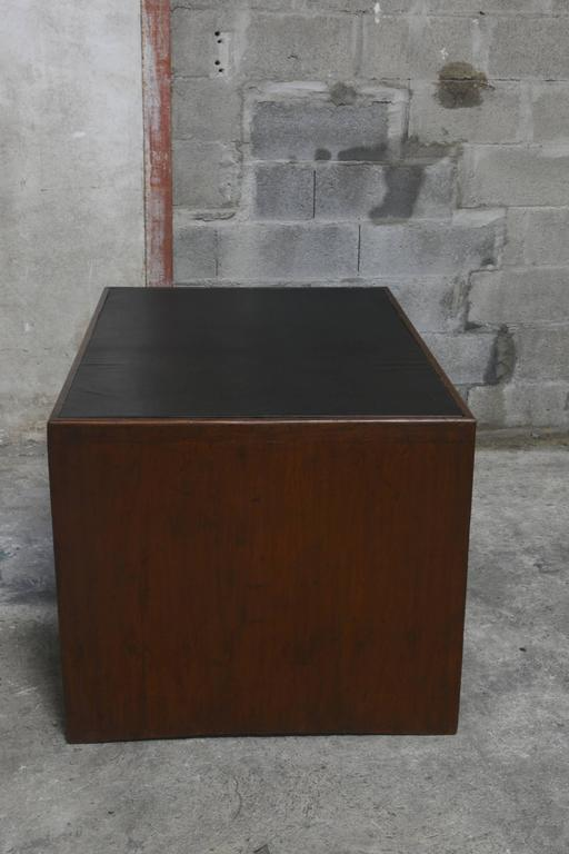 Indian Pierre Jeanneret Office Desk For Sale