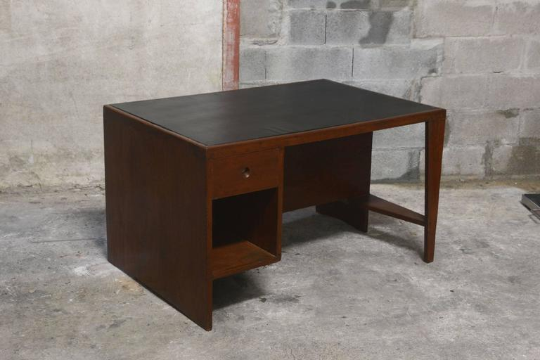 Rosewood Pierre Jeanneret Office Desk For Sale