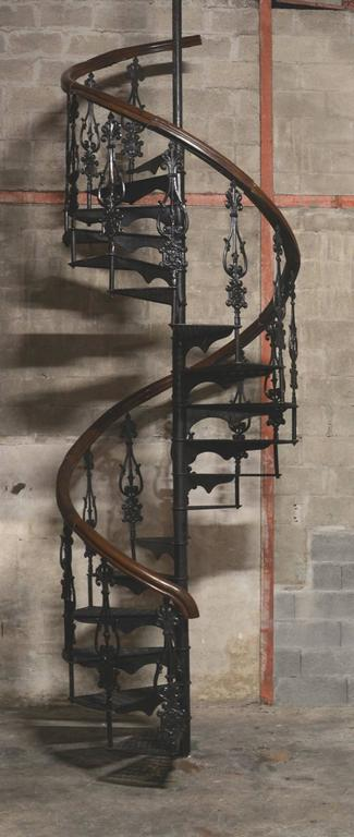 Antique Victorian Spiral Staircase Clockwise At 1stdibs
