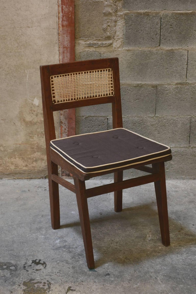 Indian Pierre Jeanneret Chair from the Himalayan Hotel For Sale