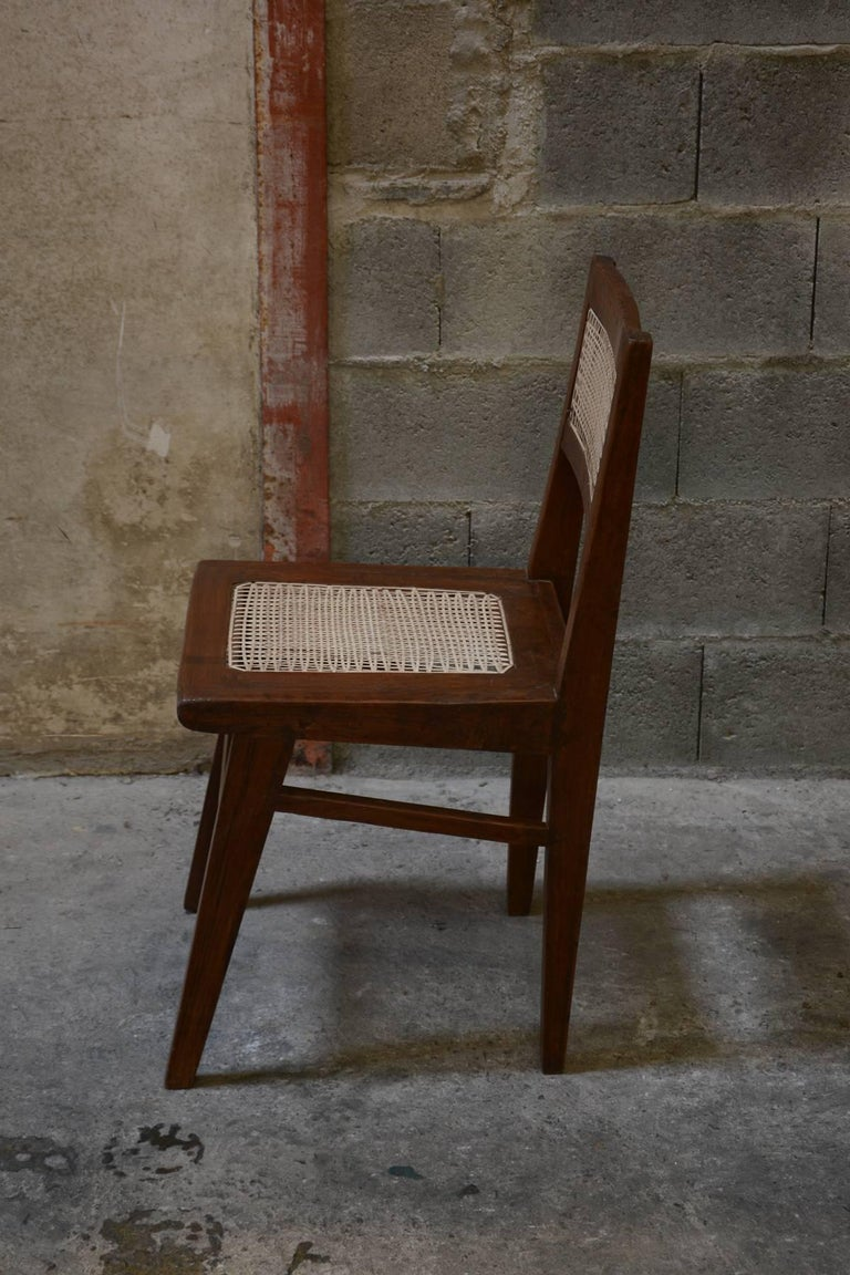 Mid-20th Century Pierre Jeanneret Chair from the Himalayan Hotel For Sale