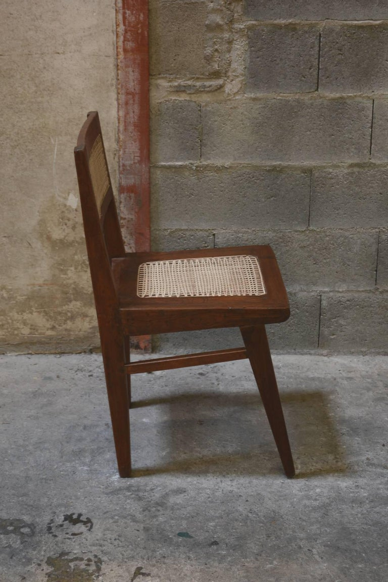 Pierre Jeanneret Chair from the Himalayan Hotel For Sale 1