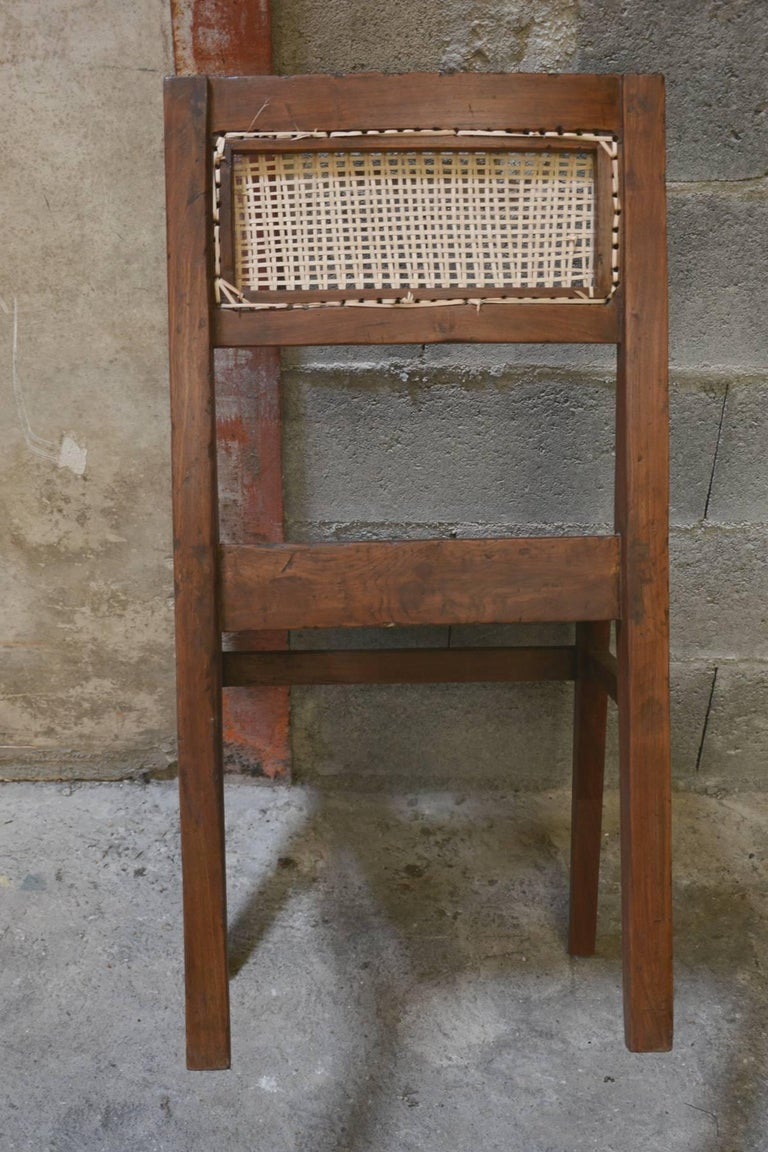 Pierre Jeanneret Chair from the Himalayan Hotel For Sale 2