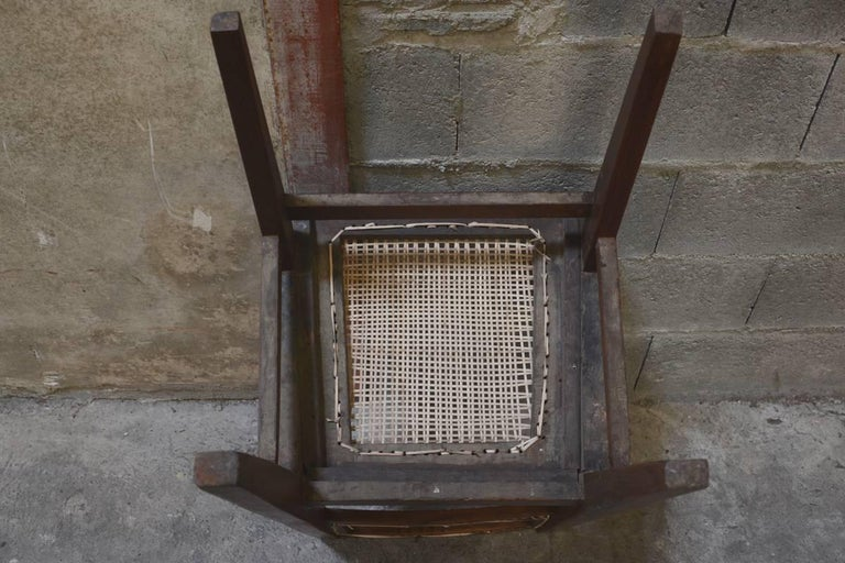 Pierre Jeanneret Chair from the Himalayan Hotel For Sale 3