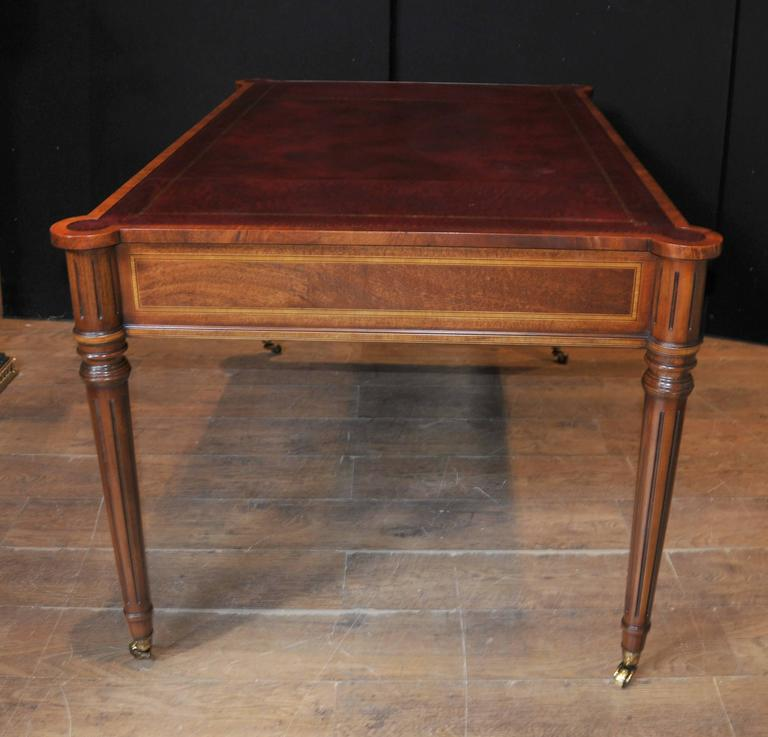 Mahogany Regency Style Gillows Desk Writing Table