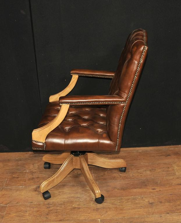 Regency Captains Office Desk Chair Armchair Deep For Sale