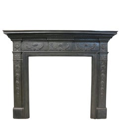 Victorian Cast Iron Fire Surround, circa 1885