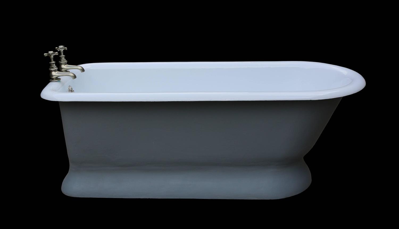 Rare Antique Cast Iron Bath Tub For Sale at 1stdibs