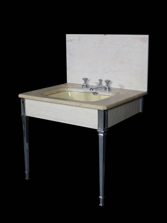 1920s Art Deco Marble Sink Basin For Sale At 1stdibs