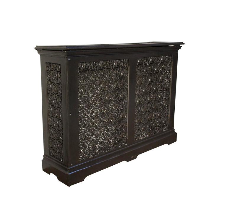 Ornate antique cast iron radiator cover for sale at 1stdibs - Cast iron radiator covers ...