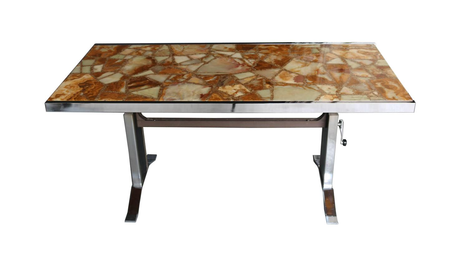 1960s Onyx Coffee Table For Sale At 1stdibs