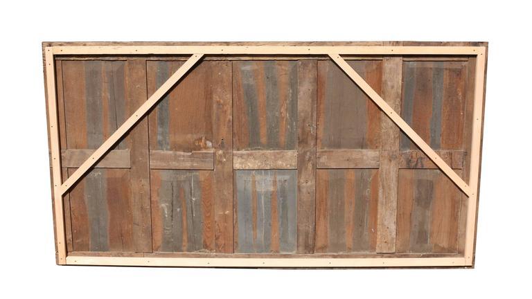 Tudor Large English Antique Carved Oak Panel For Sale