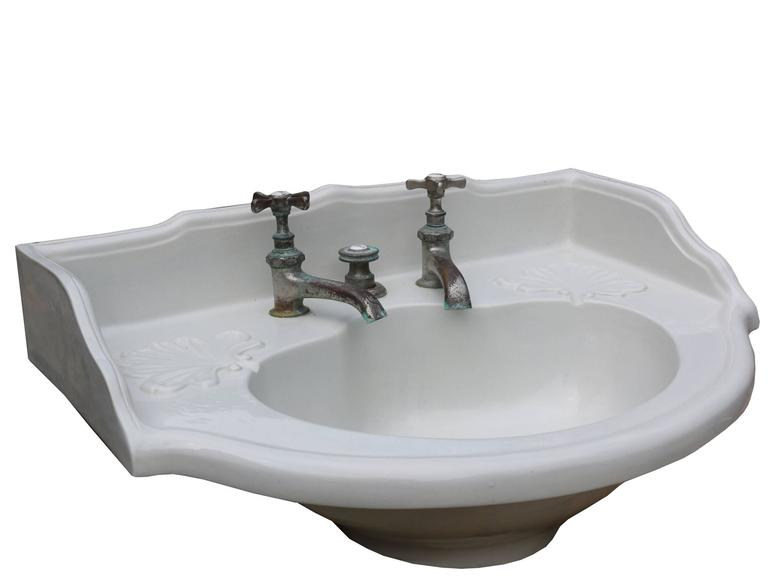 french bathroom sink 19th century antique basin sink for at 1stdibs 12922