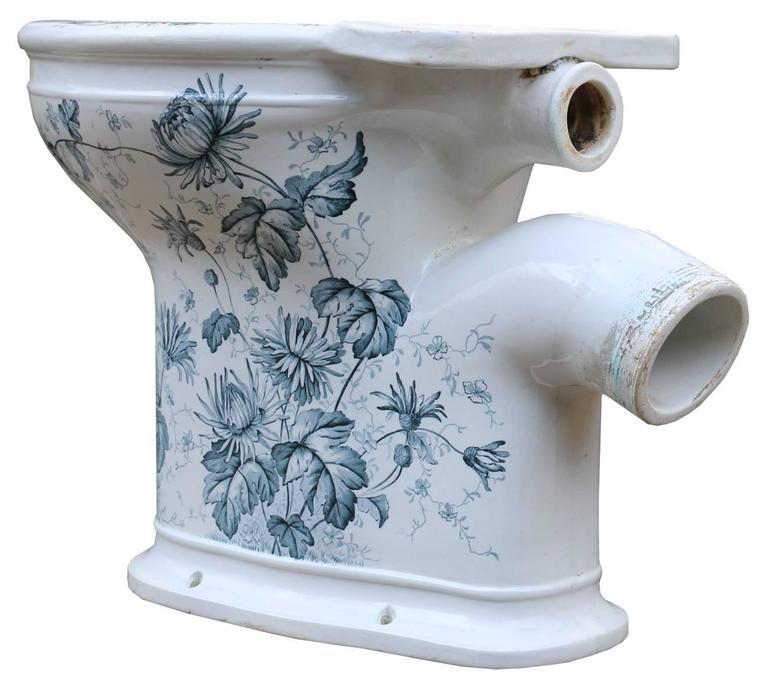 Antique Gatrix Laurel Toilet For Sale At 1stdibs