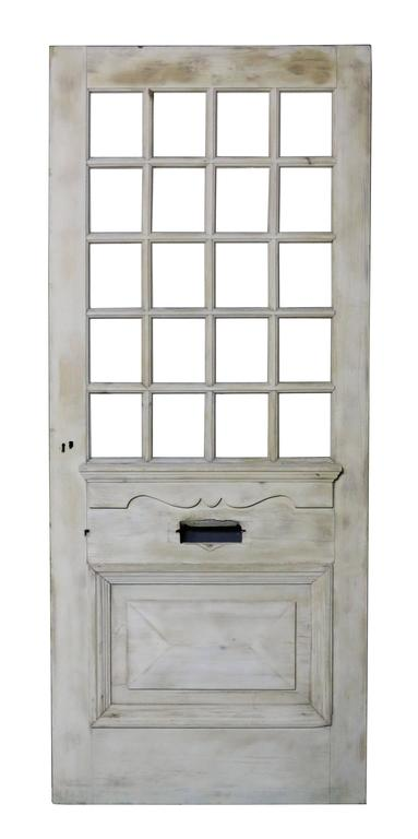 These doors are supplied unglazed.