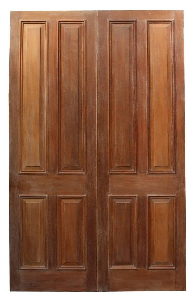 Pair of Brazilian Mahogany and Bronze Doors, circa 1900 For Sale 6