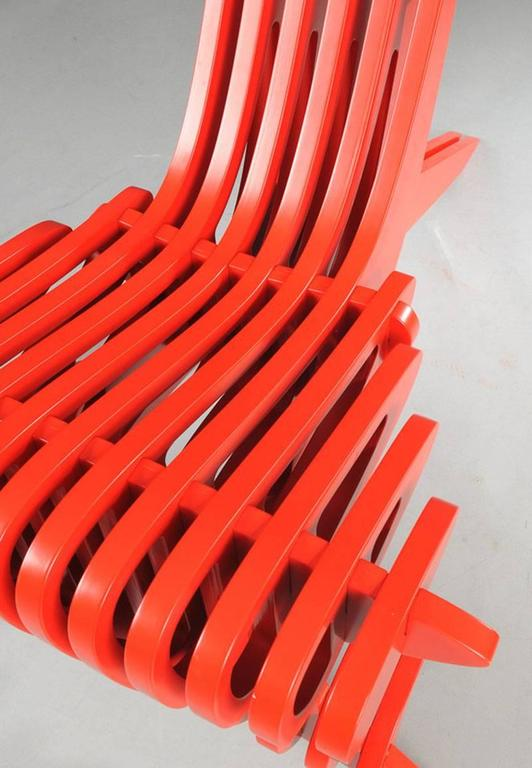 Contemporary Prototype Lounge Chair by Peter Qvist Lorentsen For Sale