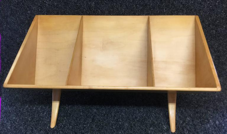 Swedish Early Book Crib Model T-704 in Birch by Bruno Mathsson for Karl Mathsson For Sale
