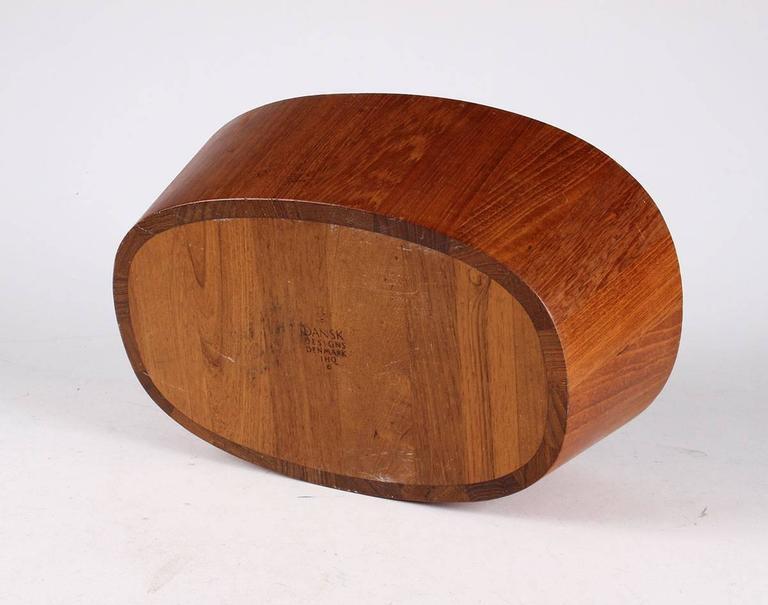 Mid-Century Modern Teak Bowl by Jens Harald Quistgaard for Dansk For Sale