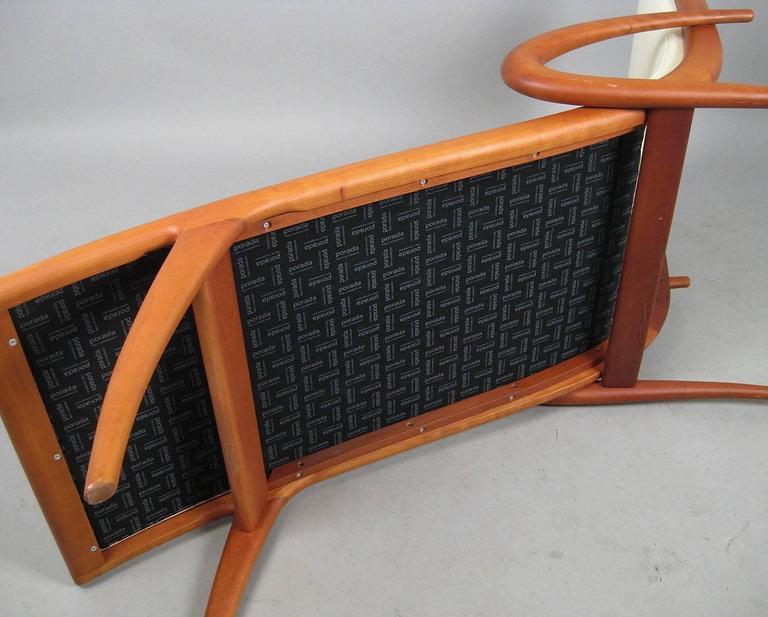 Contemporary 'Pigra' Chaise Longue by Marconato & Zappa for Porada For Sale