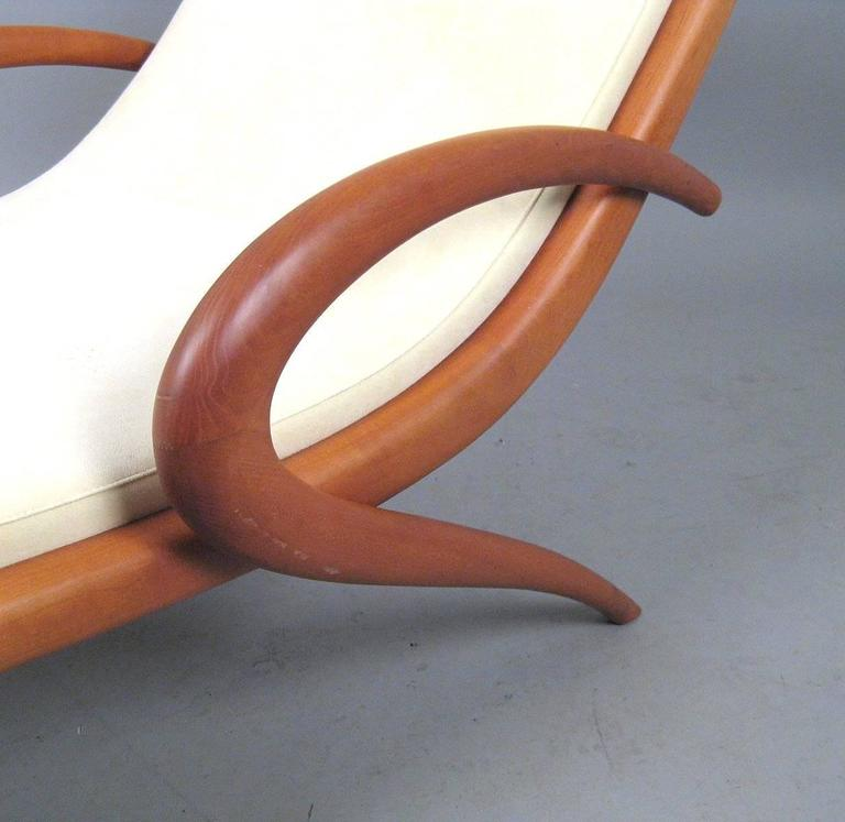 'Pigra' Chaise Longue by Marconato & Zappa for Porada For Sale 3