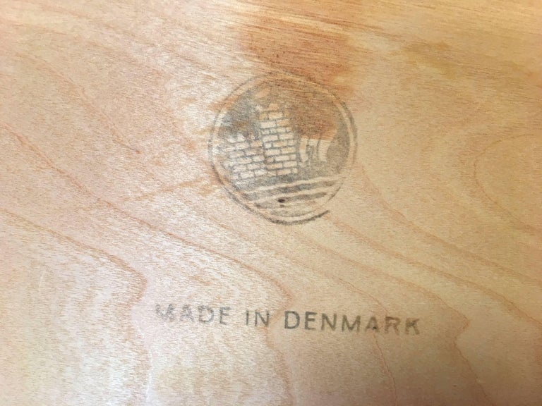 Mid-Century Modern Pair of Teak Bedside Tables by Børge Mogensen for Søborg Mobelfabrik For Sale