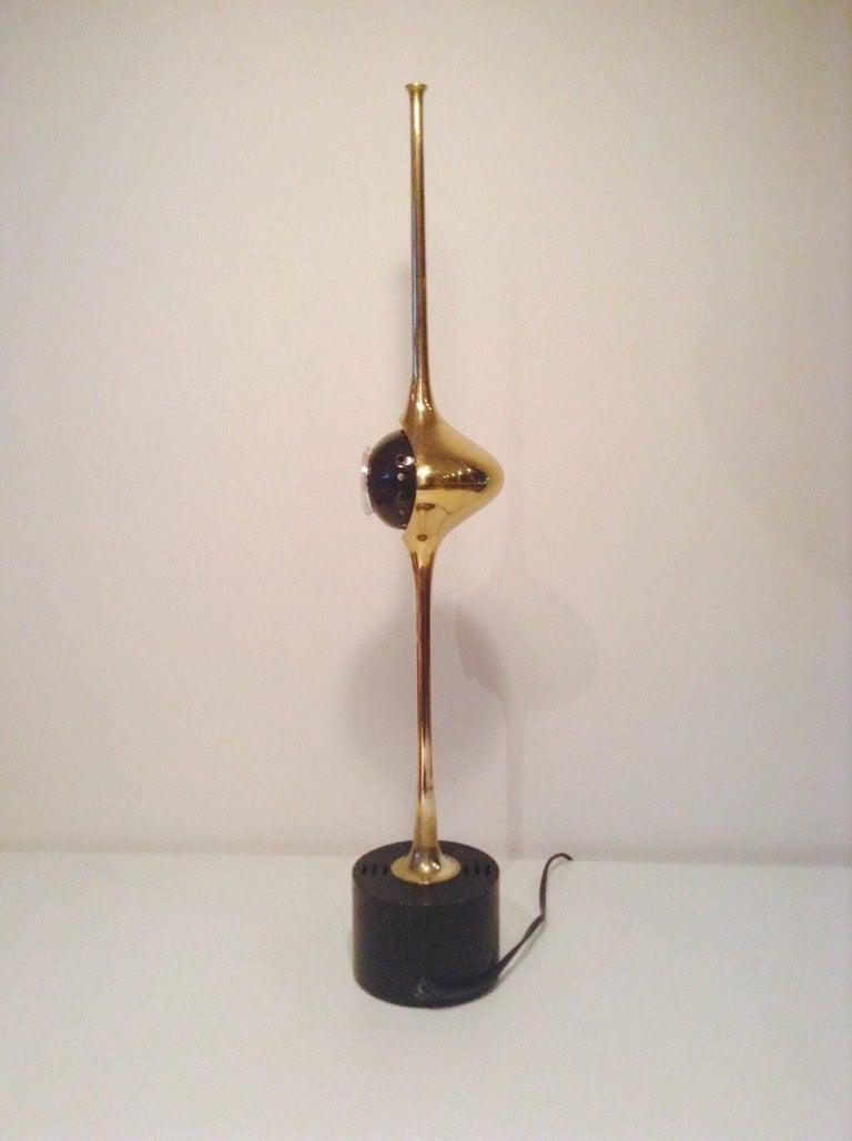 Mid-Century Modern Cobra Lamp by Angelo Lelli for Arredoluce For Sale