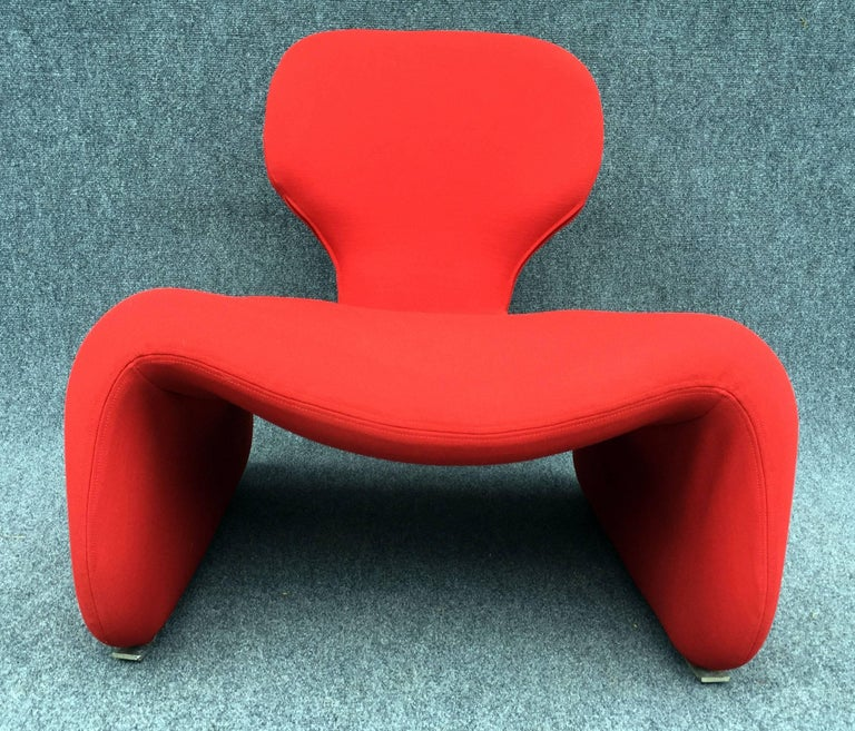 French Djinn Chair by Olivier Mourgue for Airborne