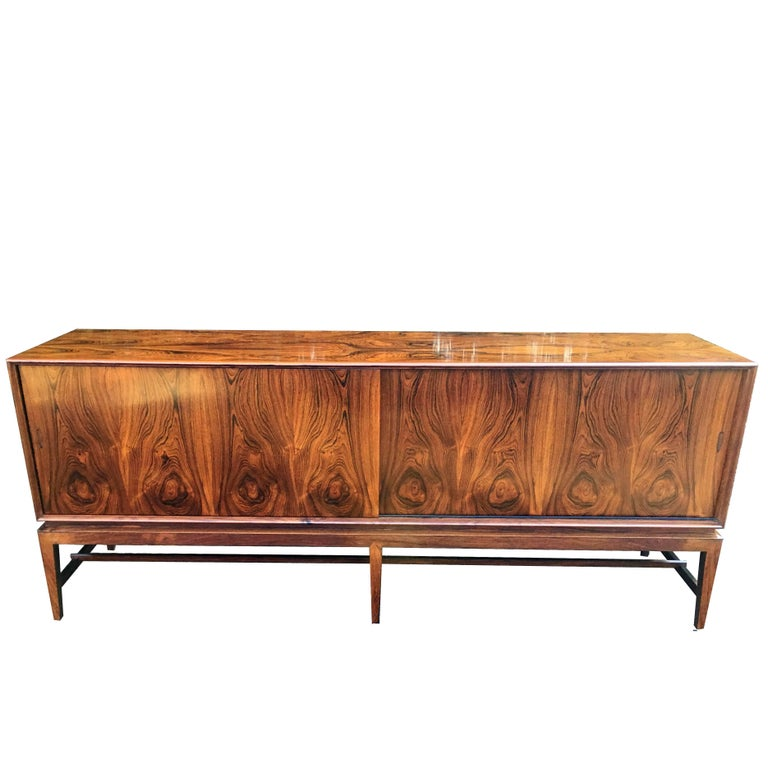 Rosewood Sideboard by Severin Hansen for Haslev