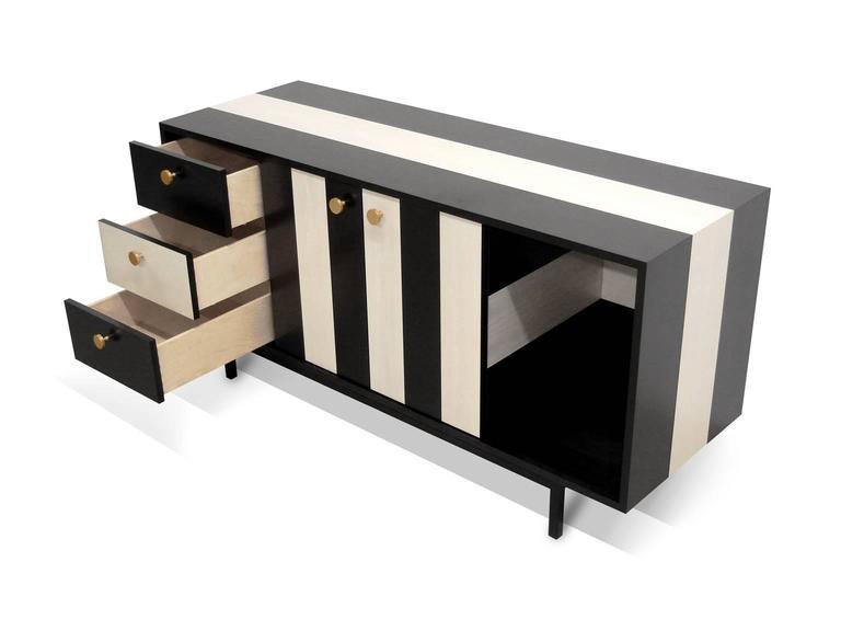 American Atocha Design No Wave Credenza or Sideboard For Sale