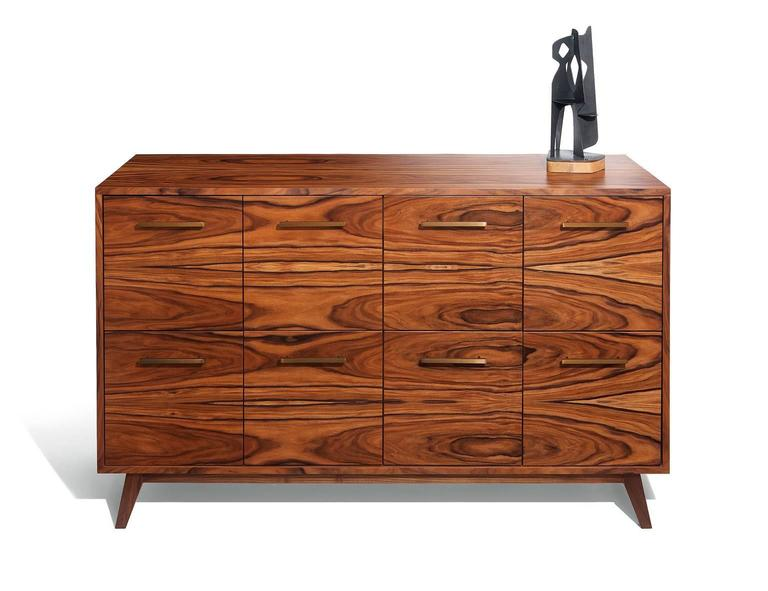 American Record Cabinet for Vinyl LPs by Atocha Design, Eight LP Drawers For Sale