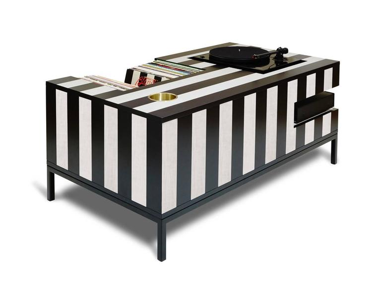 Modern Kick Back Cocktail Table by Atocha Design For Sale