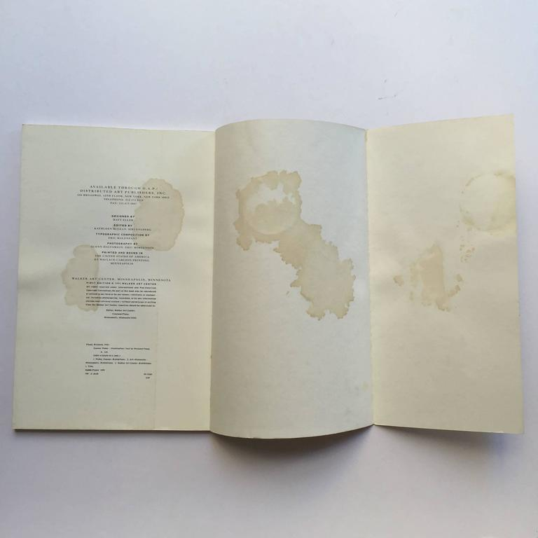 First edition, published by Walker Art Center, Minnesota, 1995