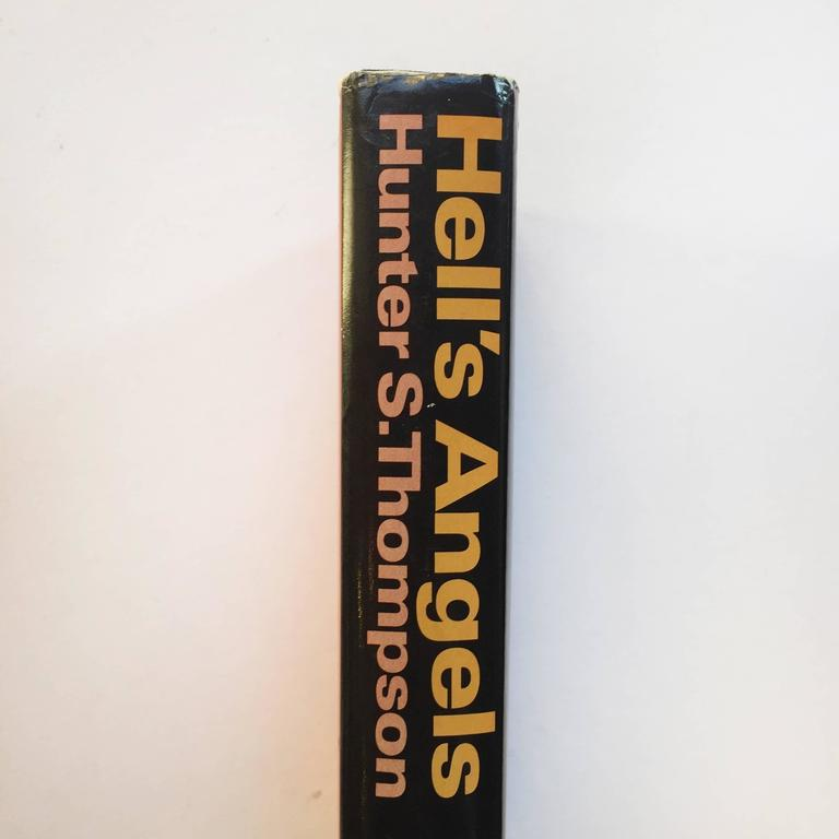 American Hunter S. Thompson Hell's Angels First Edition 1967 For Sale