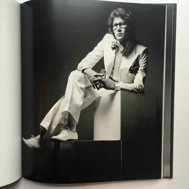 First edition hardcover, published by Albin Michel, Paris, 2010 in an acrylic slipcase.  'Yves Saint Laurent Laid Bare'  A collection of Jeanloup Sieff's incredibly intimate and unpretentious portraits of Yves Saint Laurent; 'Les Portraits Nus' &