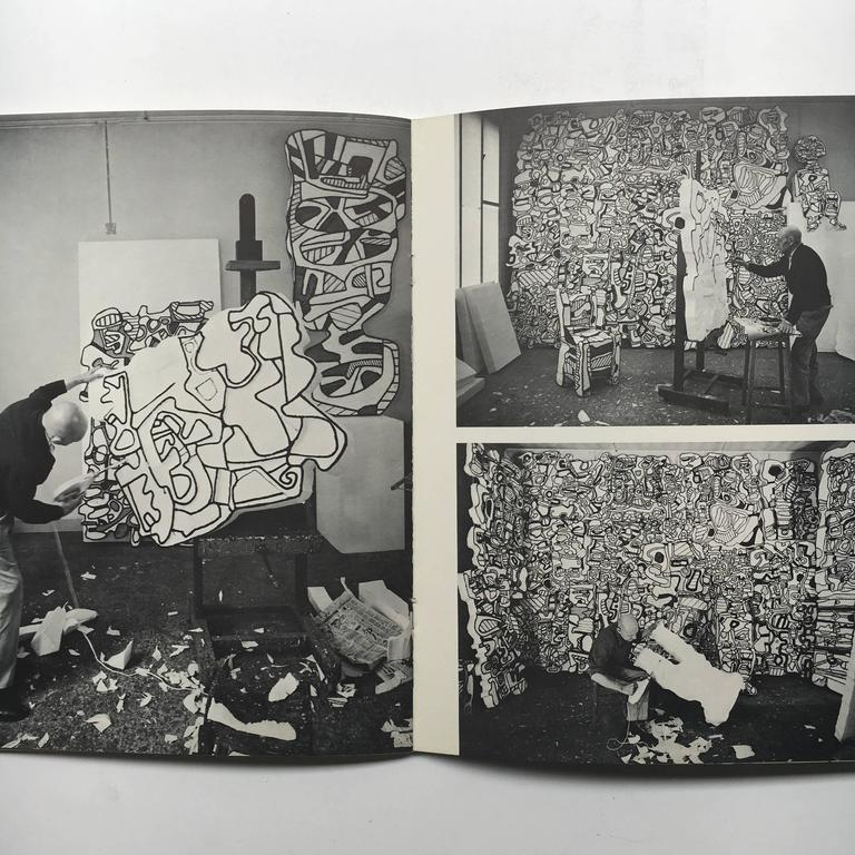 "Mid-20th Century Jean Dubuffet, Painted Sculptures, ""The Pace Gallery, New York"", 1968 For Sale"