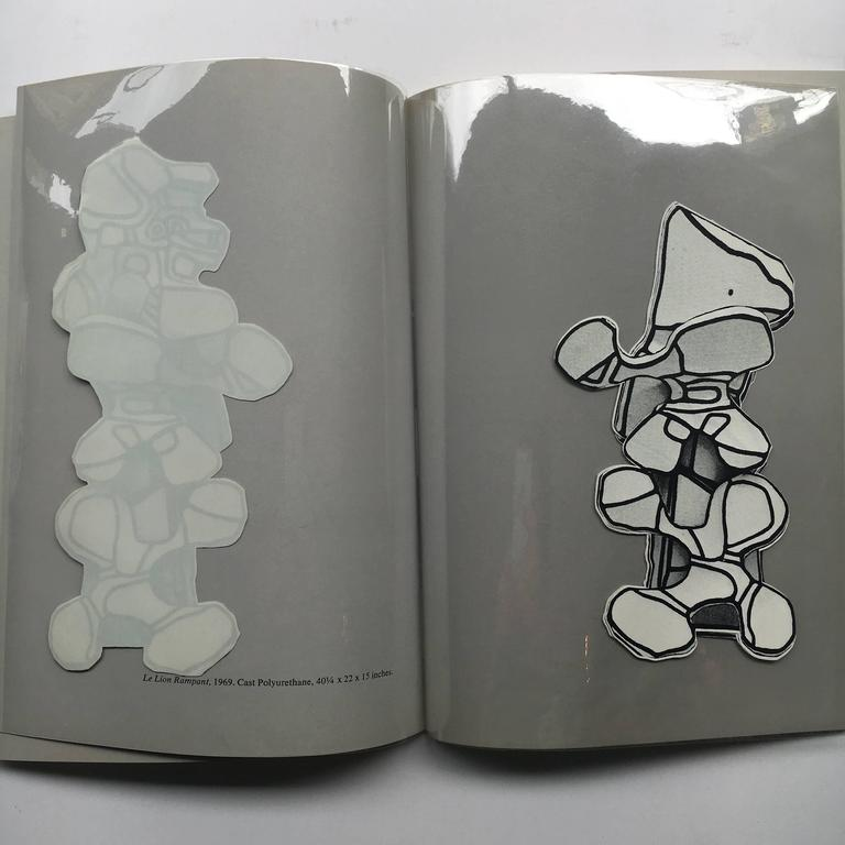 First edition, published by Pace Gallery, 1969.  A catalogue produced for Dubuffet's 1969 exhibition at Pace Gallery, New York; 'Simulacres'. The catalogue features several images of this sculptural series, a body of work comprising of cast