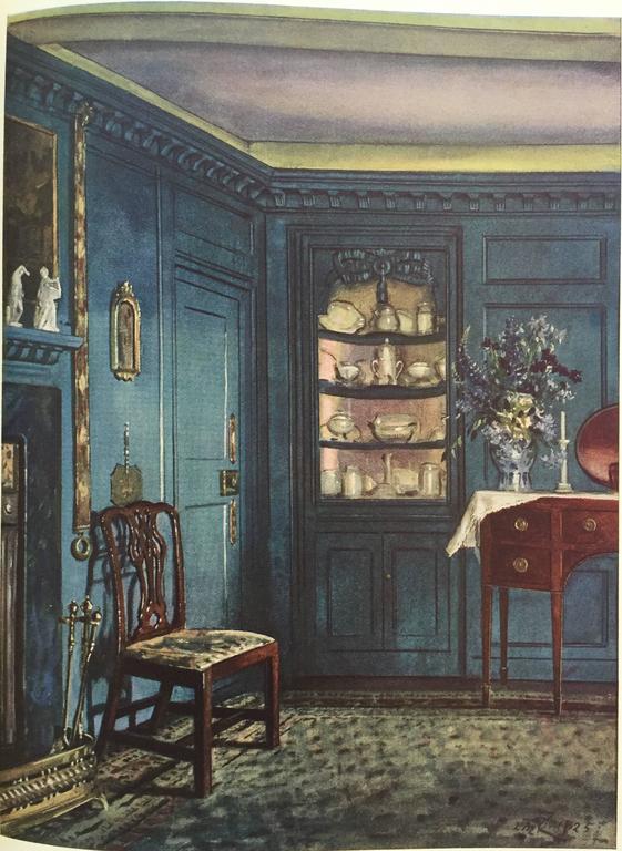 Color and Interior Decoration Basil Ionides 'Claridges Interior Decorator', 1926 1
