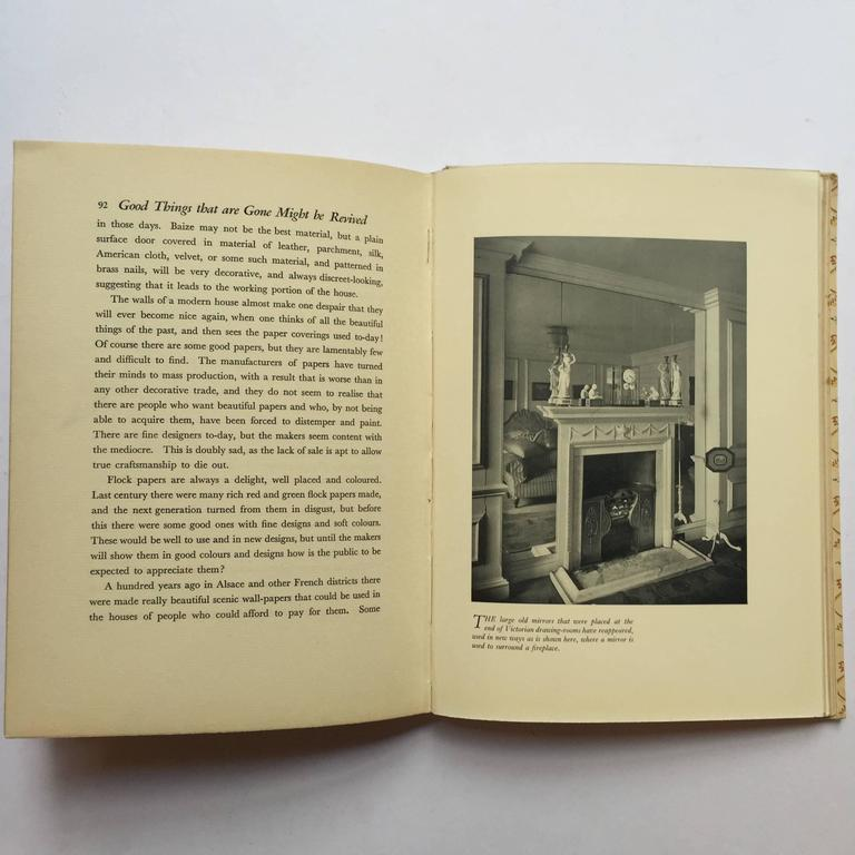 Color in Everyday Rooms Basil Ionides, Interior Decorator Claridges 1st Ed, 1934 In Excellent Condition For Sale In London, GB