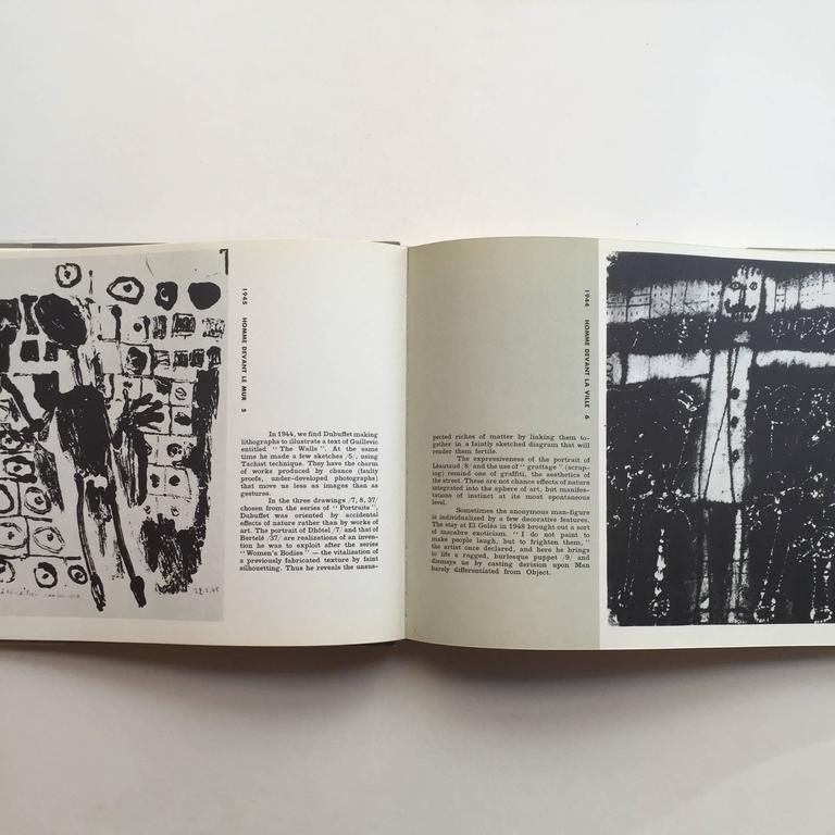 American Drawings of Jean Dubuffet 1st Edition, 1960 For Sale
